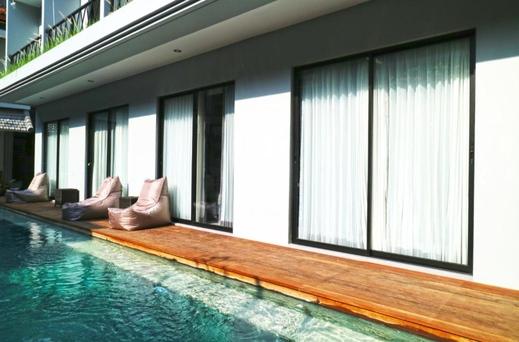 Gemini Star Hotel Bali - Kamar Deluxe Double/Twin Akses Kolam Renang