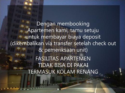 Apartemen Puri Mansion by Aparian Jakarta - NO Fasilitas