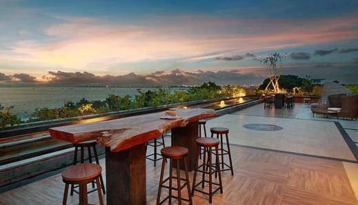 Jimbaran Bay Beach Resort & Spa Manage by Prabu Bali - Sky lounge