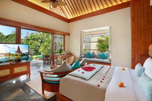 Aksari Resort Ubud Bali - Bedroom