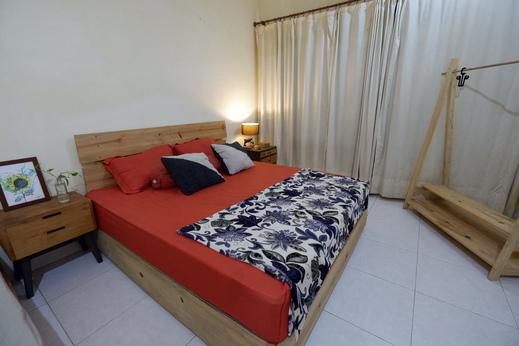 Oke Baik Hostel Yogyakarta - Tempat tidur di kamar deluxe