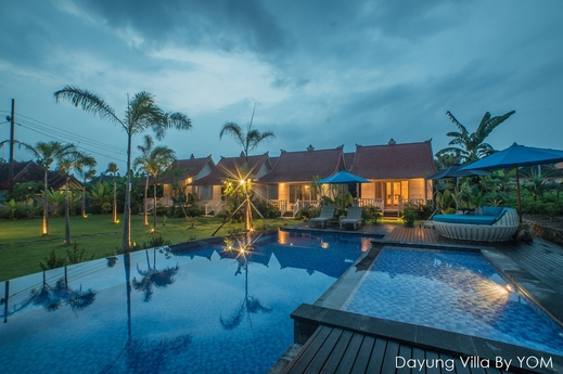 Dayung Villas By YOM Bali - Kolam Renang