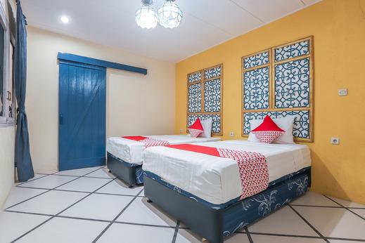 OYO 156 Wirasamala Villa Puncak - Bedroom