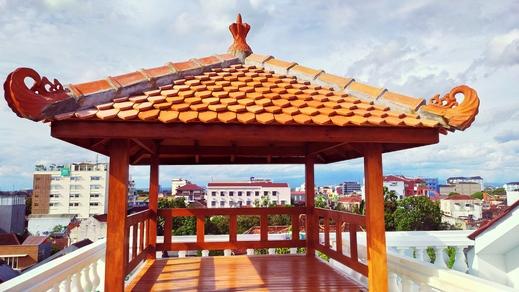 Hotel Radyoharto Yogyakarta - Gazebo on Rooftoo