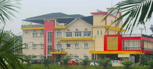 New d'Dhave Hotel Padang - Gedung luar