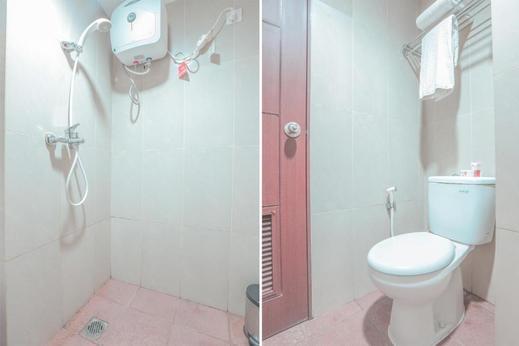 Apartment Taman Melati Surabaya by Havana Friends Surabaya - Bathroom