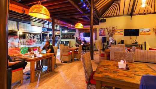 Kura Kura Resort Lombok - Restaurant