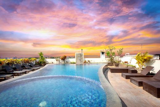 Airy Premier Seminyak Cendrawasih 28 Kuta - Rooftop Pool