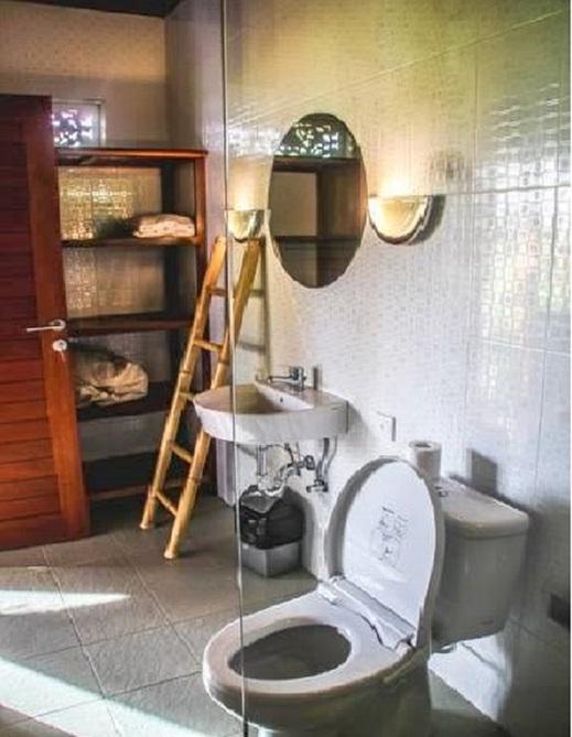 Kubu Jamu Ubud Bali - Bathroom