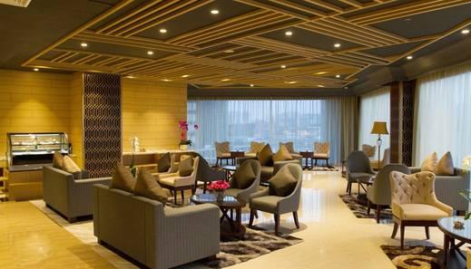 Yuan Garden Pasar Baru Jakarta - lobby lounge