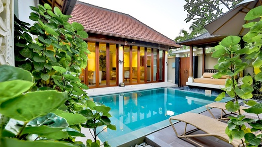 DISINI Luxury Spa Villa Bali - pool