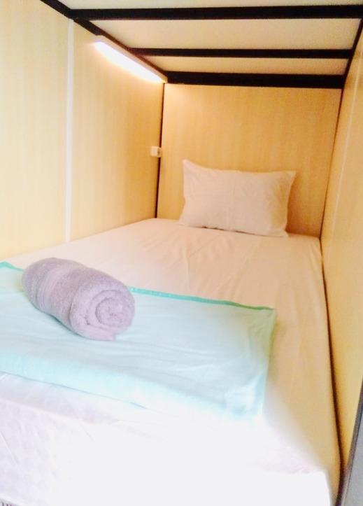 Kembang Gula Hostel Malioboro Yogyakarta - single bed cabin
