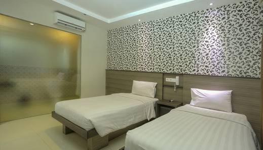Urban Styles Everyday Kuta Bali - Kamar dengan dua tempat tidur
