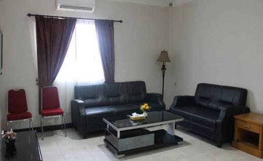 Hotel Cendrawasih 66 Mimika - Ruang tamu
