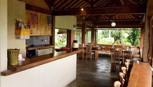 Villa Bintang Ubud Bali - restouran