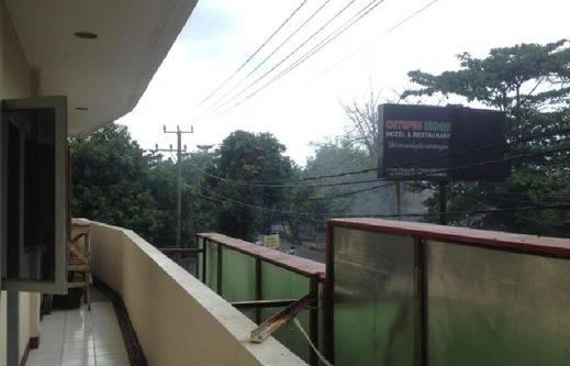 Hotel Citepus Indah  Sukabumi - pemandangan dari samping