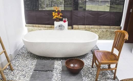Tinggal Premium at Banjar Umahanyar Ubud - Bak mandi