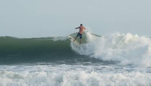 Legong Keraton Beach Hotel Bali - Surfing