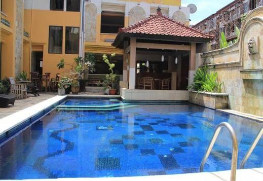 Tinggal Nathan Hotel Bali - Pool View