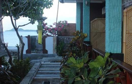 Krisna Bungalow and Restaurant Lombok - pemandangan sisi