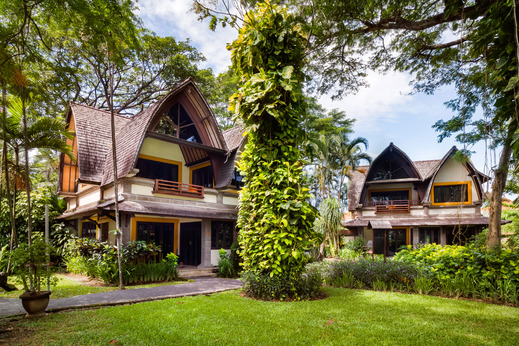 Hotel Vila Lumbung Seminyak - Garden Area