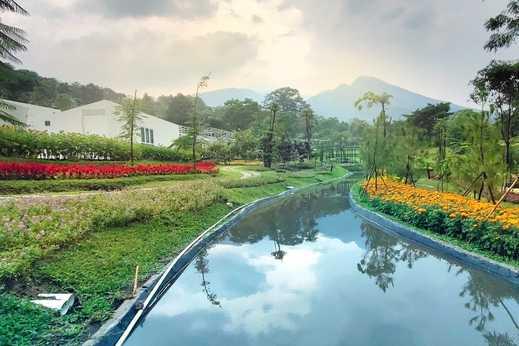 Leuweung Geledegan Ecolodge Bogor - Taman