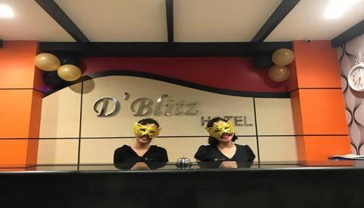 D'Blitz Hotel Kendari - Reception