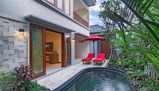 The Widyas Luxury Villa Bali - Private Pool in Two Bedroom Villa