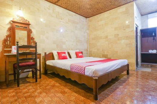 OYO 1930 Ananda Beach Hotel Bali - Bedroom
