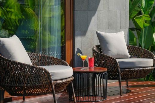 The Garcia Ubud Hotel and Resort Bali - sitting area