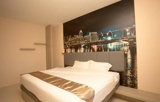 D'vin Hotel Batam - Kamar tidur