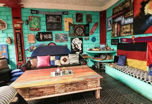 NIDA Rooms Pantai Balangan Uluwatu Bali - Ruang tamu