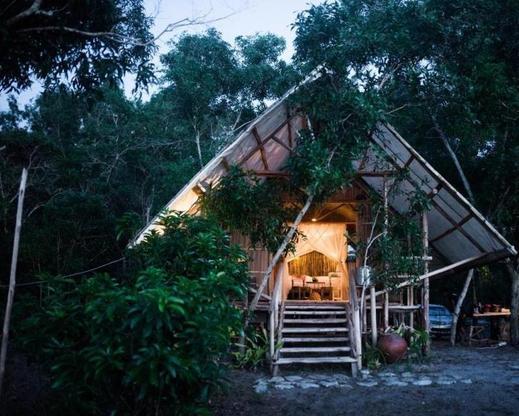 Billiton Beach Tent Belitung - Exterior