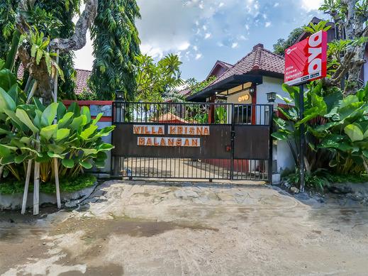 OYO 2534 Villa Krisna Balangan Bali - Facade