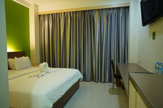 Hotel Citarum Bandung - kamar tidur
