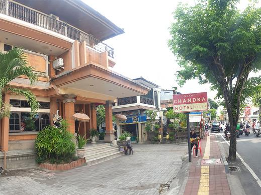 OYO 3244 Grand Chandra Hotel Bali - Facade