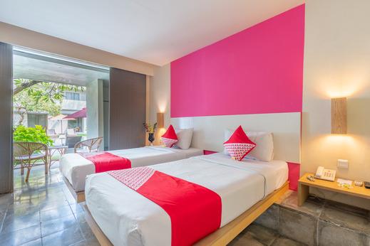 OYO Flagship 760 Oasis Kuta Bali - Bedroom