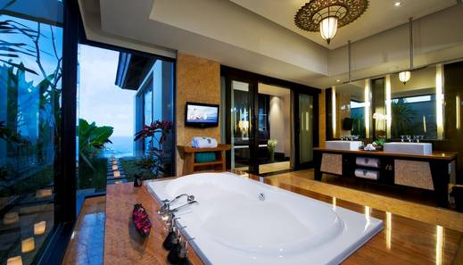 Jumana Bali Ungasan Resort Bali - Pool Villa Ocean View - Bathroom