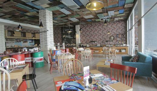Tjokro Style Yogyakarta Yogyakarta - Breakfast Area