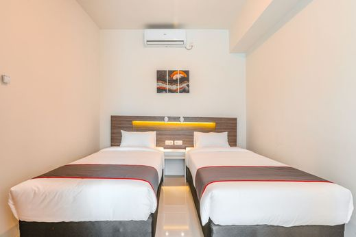 Collection O 16 Vittoria Residence Near RS Mentari Jakarta - Bedroom D/T