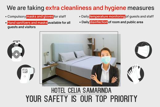 Celia Hotel Samarinda - covid19