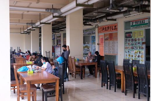 The Suites @Metro Apartemen by Zaky Bandung - Area Makanan
