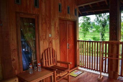 Lesehan Cahaya Tetebatu Inn Lombok - Bedroom