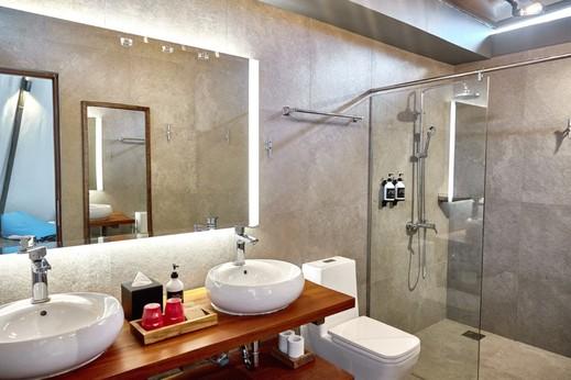 The ANMON Resort Bintan Bintan - Teepee-style Tent - Bathroom