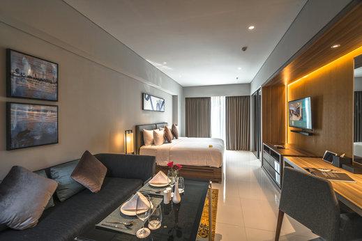 Oakwood Hotel & Residence Surabaya Surabaya - Studio Deluxe