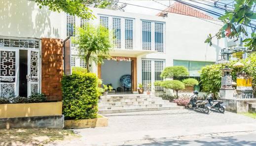 Abian Biu Mansion Bali - Entrance