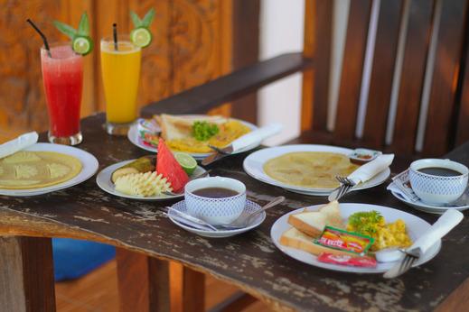 Balengku Homestay Lombok - Sarapan