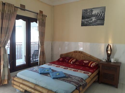 Sagita Bungalow Lombok - double bed