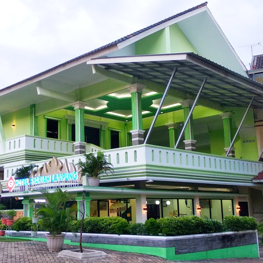 G Hotel Syariah Bandar Lampung - Gedung