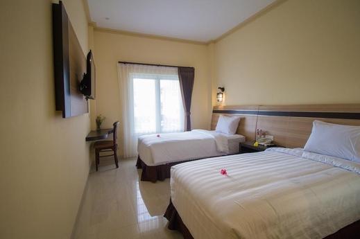 Puri Indah Hotel Subak Lombok - Bedroom